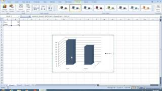 How To Make Excel 2007 Chart Bars Wider