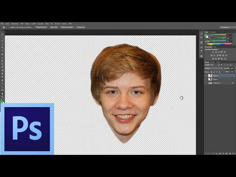 How to change heads in Photoshop | English