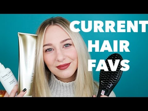 CURRENT HAIR FAVOURITES - bleached, blonde and breakage