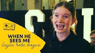 WAITRESS - Layla Rose Boyce sings WHEN HE SEES ME | Spirit 32 Bar Project