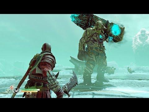 God Of War (PS4) - Boss #11 - Máttugr Helson - NO DAMAGE [GIVE ME GOD OF WAR]