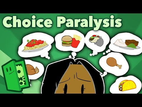 Choice Paralysis - Too Much of a Good Thing - Extra Credits