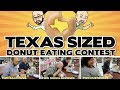HUGE Donut Eating Contest in Decatur: Two Bald Guys vs. Two Dudes Reviews vs. Two Customers