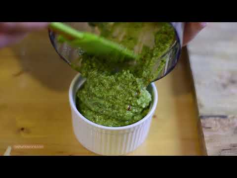 Basil Pesto Sauce Recipe with all Natural Ingredients