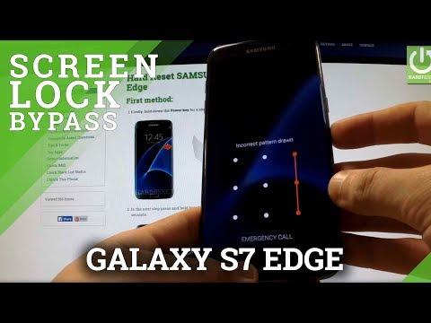 Hard Reset SAMSUNG G935F Galaxy S7 Edge - bypass lock screen pattern