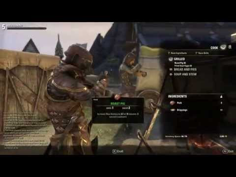 ESO Cooking Guide: How to be a Master Chef