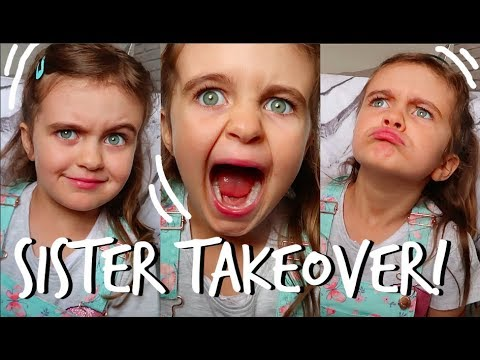 I let my sister film a video on her own...