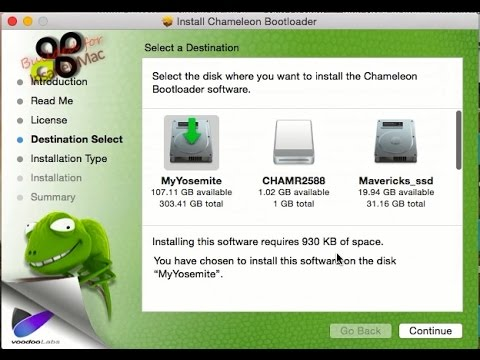 How To Create A Chameleon USB Flash Drive That Boots All Mac OS X Installer