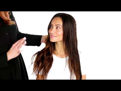 How to Naturally Style Wavy Hair - Hair Tutorial - Paul Mitchell