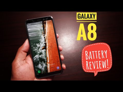 Samsung Galaxy A8 2018 Battery Review!
