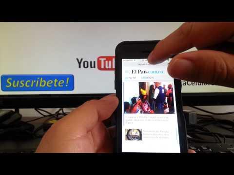 tutoriales iOS 8 como usar versión de escritorio en safari iPhone 5S 5 4s consejos