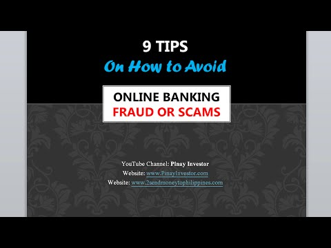 How to Avoid Online Banking Scams