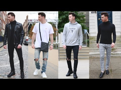 MENS FASHION LOOKBOOK 2017 - 3 TRENDY OUTFITS FOR FALL - MENS OUTFIT INSPIRATION