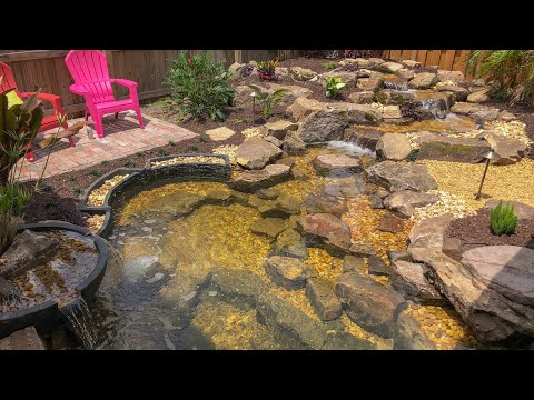 Day 2: My DREAM POND is FINISHED!!!