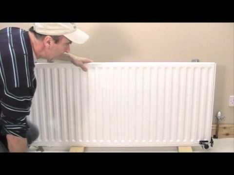Replace skirting Board behind Radiator. WITHOUT draining!