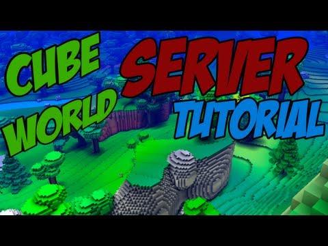 Dansk Tutorial - Cube World Server! - Hamachi Eller Port Forwarding