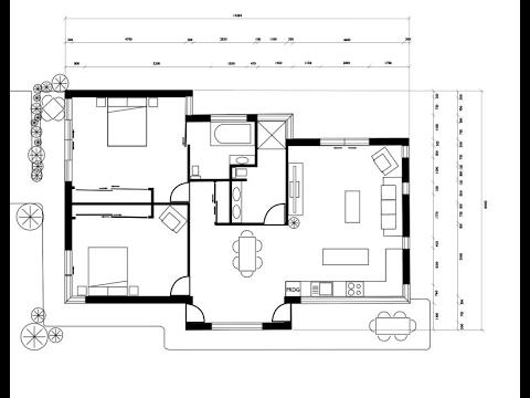 Designing a plan view (floor plan) in Adobe Illustrator