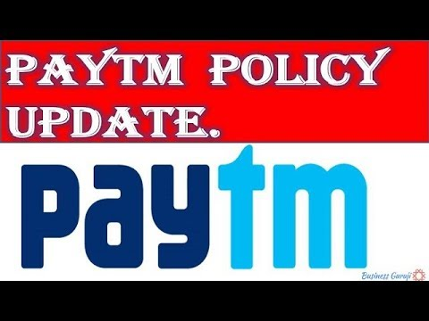 Paytm Policy update for Sellers   Paytm New update.