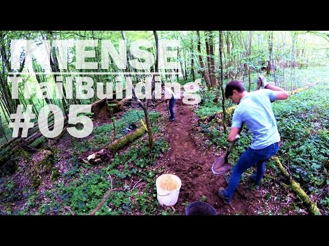 Double, Big Berm & Test Ride | Intense MTB Trail Building #05