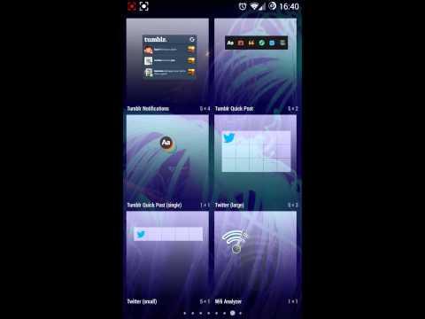 ✰☠ CyanogenMod ☠✰ - KITKAT 4.4 Widgets