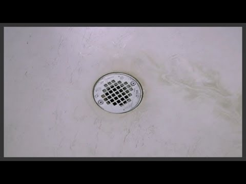 Shower drain cover replacement