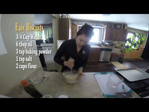Easy No Dairy Biscuit Recipe