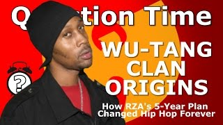 WU-TANG CLAN ORIGINS - How RZA