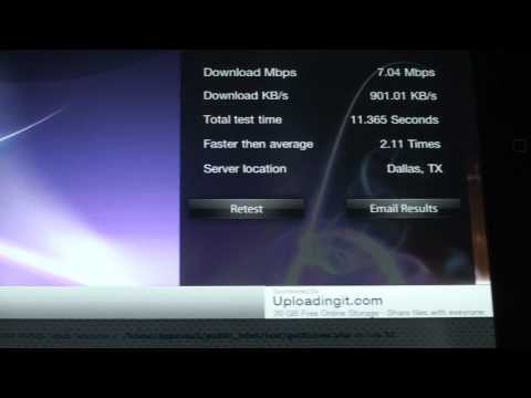 iPad App Review - Speed Test X
