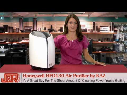 Honeywell HFD130 Air Purifier by KAZ