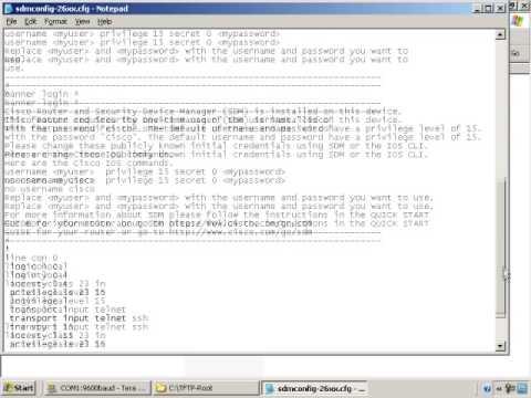 Security Device Manager (SDM) -  Cisco CCNA Security Training
