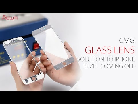 CMG Glass Lens - Solution to iPhone Bezel Frame Coming Off