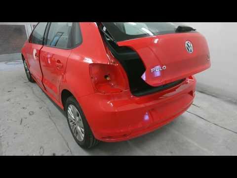 2014 VW POLO REAR BUMPER