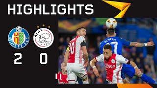 Highlights Getafe - Ajax | UEFA Europa League