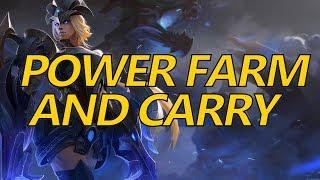 Highlight - Dragon Power Farm Into Carry