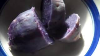 COOKING - Purple yam - purple sweet potato - Yes It's that easy - John V. Karavitis