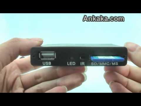 Digital Media Player for TV (HDMI, USB, SD, AV)