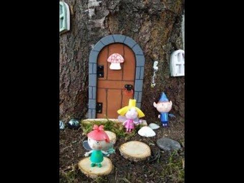 DIY Project Fairy Door and Windows