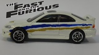 The Fast and the Furious White Civic