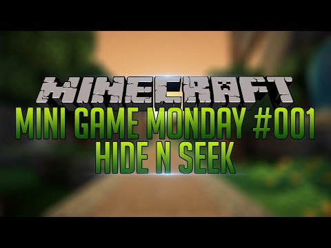 Minecraft: Mini Game Monday! | Hide n Seek! | #001