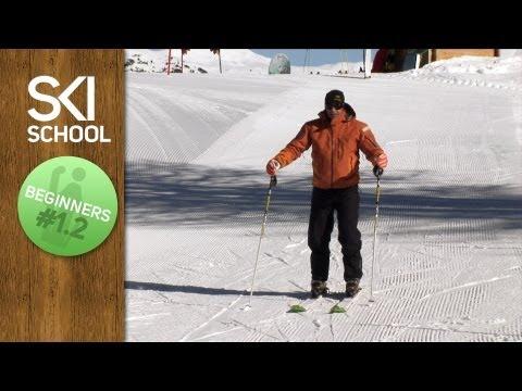 Beginner Ski Lesson #1.2 - Sliding on Snow