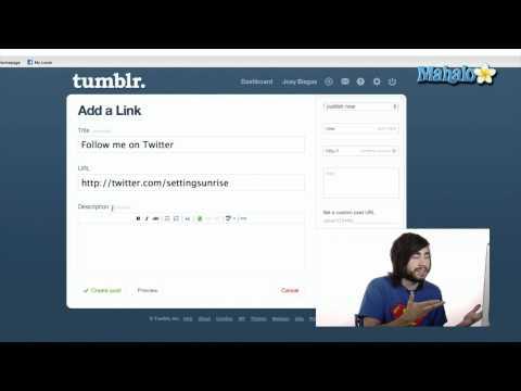 Link Blog - Tumblr