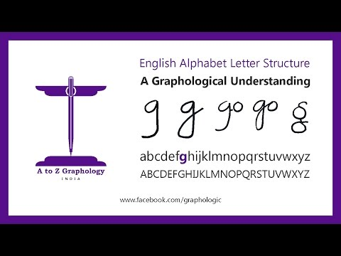 'g' for finances at home? Letter clues: Graphological meaning of letter 'g' : A to Z Graphology