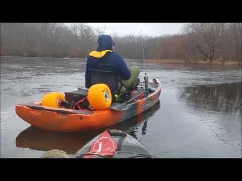 First Kayak Fishing Trip Of 2018.
