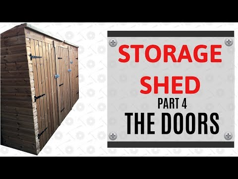 How To Make Shed Doors - The Average Joe Way
