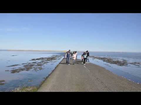 Lindisfarne (Holy Island) Causeway Tide Timelapse