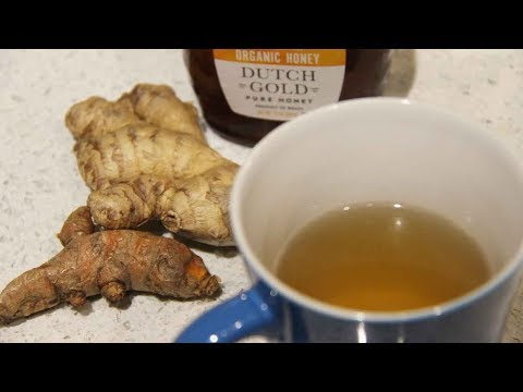 Anti-Inflammatory Ginger & Turmeric Tea | Natural Remedy To Fight Cold & Flu