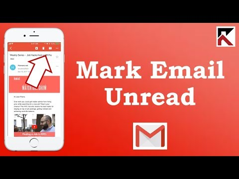 How To Mark Emails As Unread Gmail iPhone