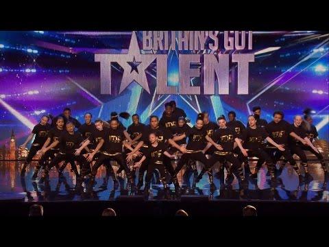 Britain's Got Talent 2015 S09E03 Dance Crew IMD Legion Performs A High Energy Routine