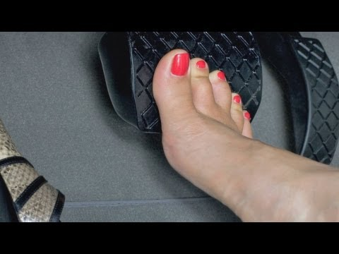 How to Stay Safe Driving in Heels | High Heel Walking