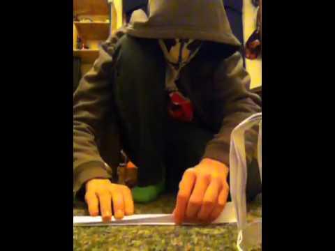 How to make a paper batman mask part 3